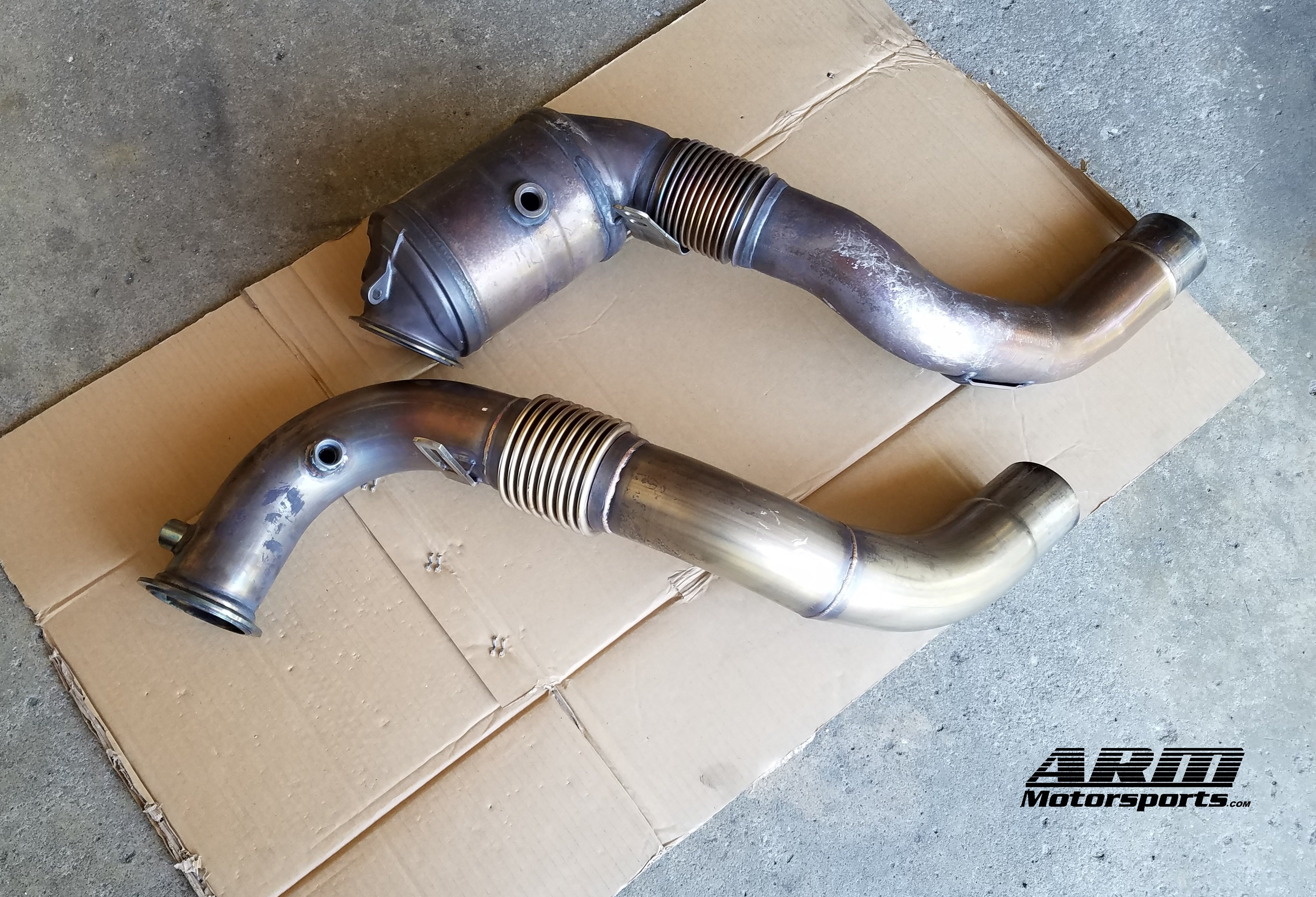 N63 Downpipes F10 550i Exhaust