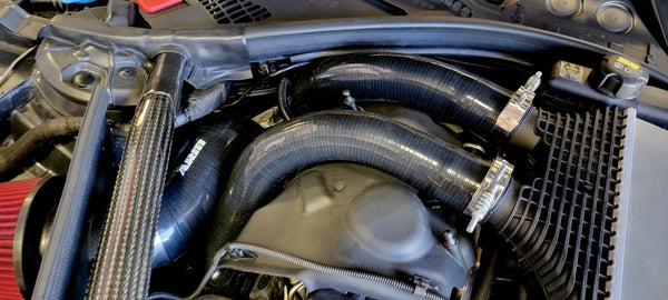 S55 Silicone Charge Pipes