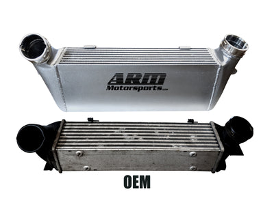 "335i 7"" Intercooler FMIC - ARM Motorsports"