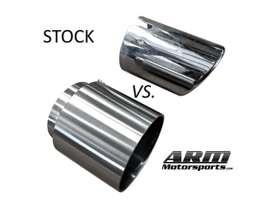 F87 M2 Competition Exhaust Tips - ARM Motorsports