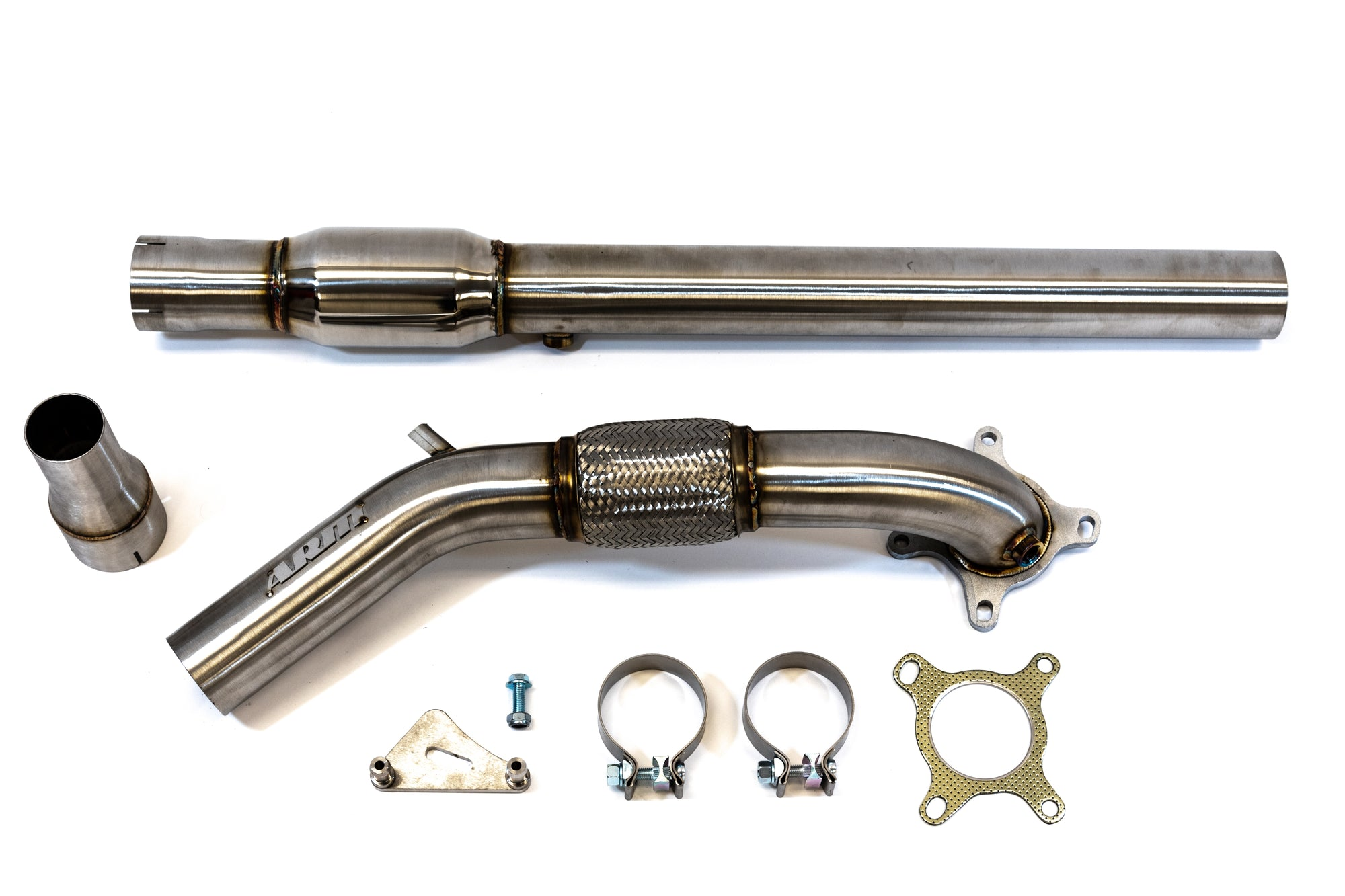 "MK6 GTI 3"" CATTED DOWNPIPE - ARM Motorsports"