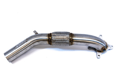 "VW JETTA GLI 3"" CATTED DOWNPIPE - ARM Motorsports"