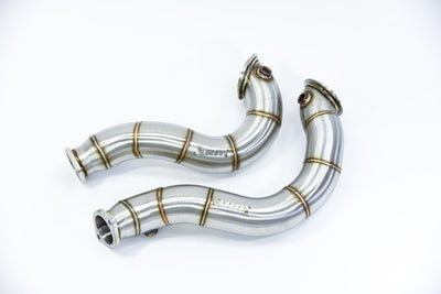 "BMW 135i N54 3"" CATLESS DOWNPIPES - ARM Motorsports"