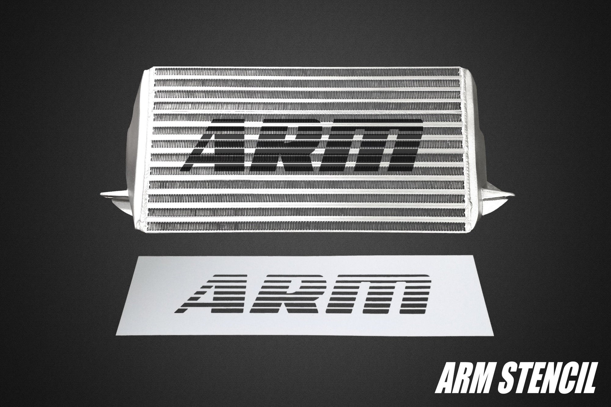 ARM Intercooler Stencil - ARM Motorsports