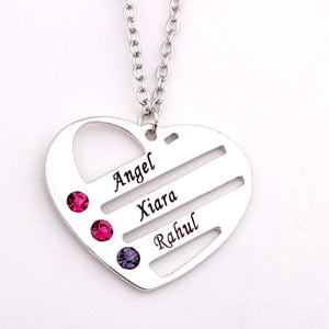 The Treasures Of My Heart Necklace