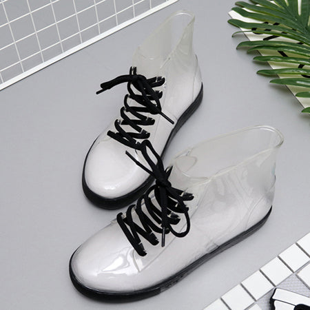 Fashion Transparent Rain Boots