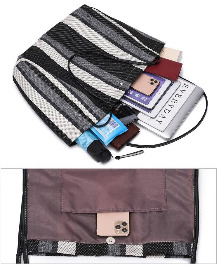Travel Shopping Shoulder Bag