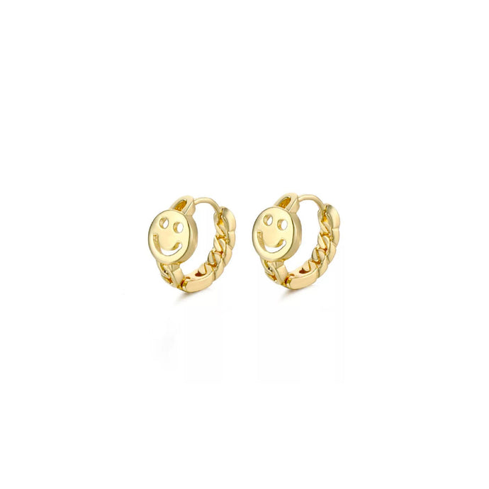 Petite Smiley Earrings
