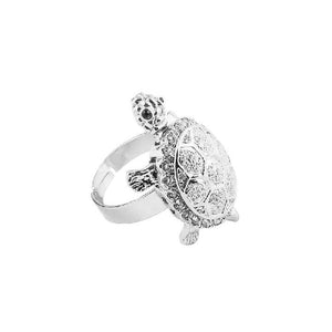 Turtle Sterling Ring