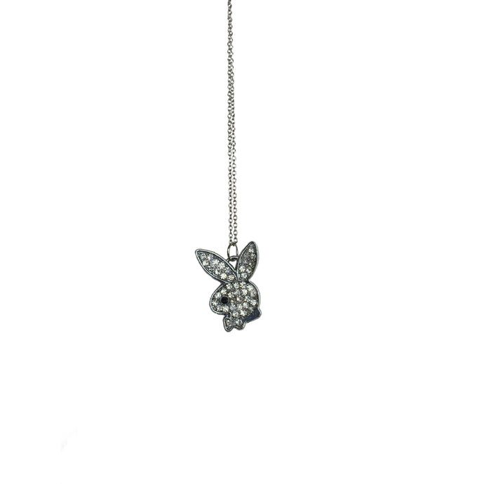 Crystal Bunny Necklace