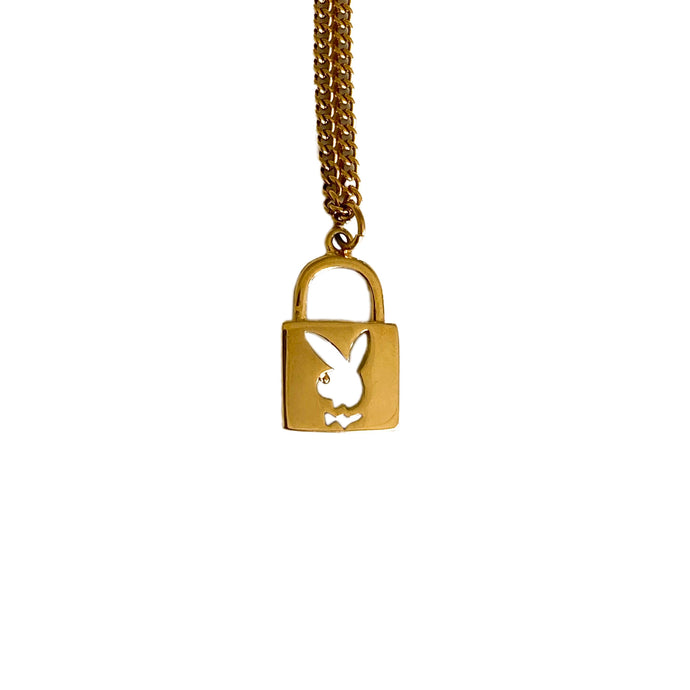 Playboy Lock Necklace