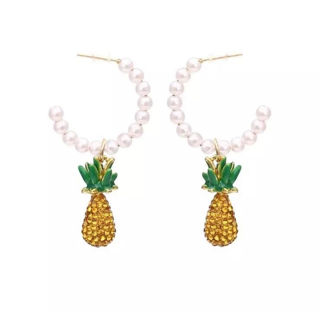 Juicy Pineapple Hoops