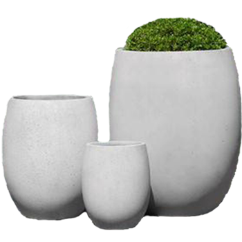 Campania Light-Weight Planters