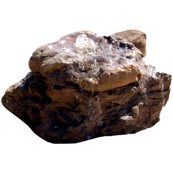 Artificial Bubbling Rock