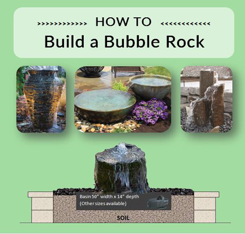 Build a Bubble Rock - Marquis Gardens