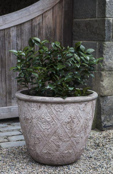 Photo of Campania JACQUARD LOW PLANTER - Marquis Gardens