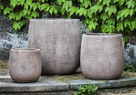 Photo of Campania HANDSPUN LINEN PLANTER - Marquis Gardens