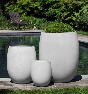 Photo of Campania LAGUNA PLANTER SET OF 3 - Marquis Gardens