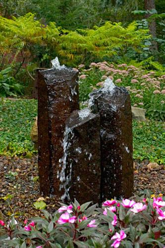 Photo of Aquascape Natural Mongolian Basalt Columns - Marquis Gardens