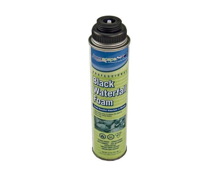 Photo of Aquascape Professional Black Waterfall Foam - 24 oz - Marquis Gardens