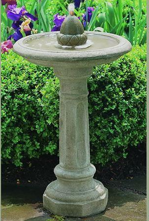 Photo of Campania Acorn Fountain - Marquis Gardens