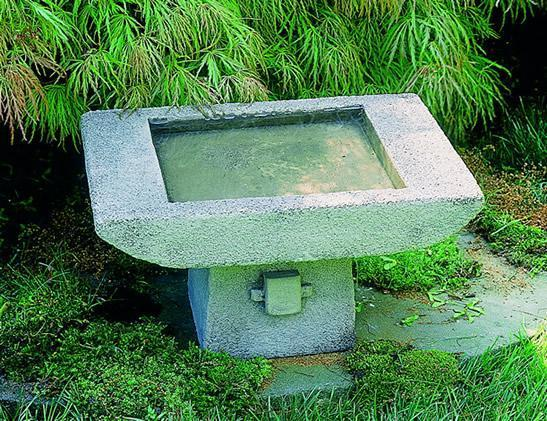Photo of Campania Kyoto Birdbath - Marquis Gardens
