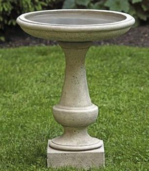 Photo of Campania Chatham Birdbath - Marquis Gardens
