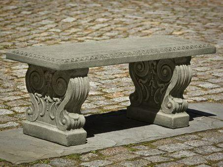 Photo of Campania Classic Garden Bench - Marquis Gardens