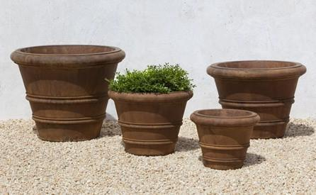 Photo of Campania Classic Rolled Rim Planters - Marquis Gardens