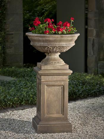 Photo of Campania Coachhouse Pedestal - Marquis Gardens