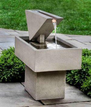 Photo of Campania Triad Fountain - Marquis Gardens
