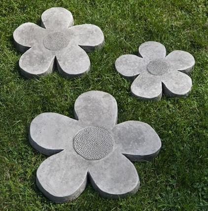 Photo of Campania Flower Power Stepping Stones - Marquis Gardens