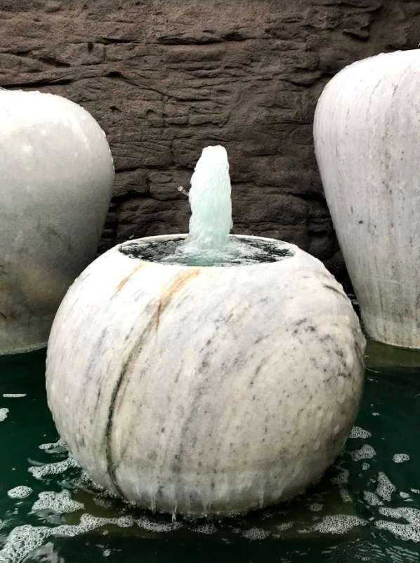 Foaming Marble Urns
