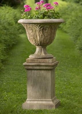 Photo of Campania Greenwich Pedestal - Marquis Gardens