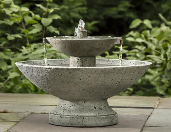 Photo of Campania Jensen Oval Fountain - Marquis Gardens