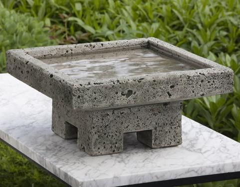 Photo of Campania Kosei Birdbath - Marquis Gardens