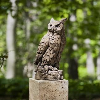 Photo of Campania Large Horned Owl - Marquis Gardens