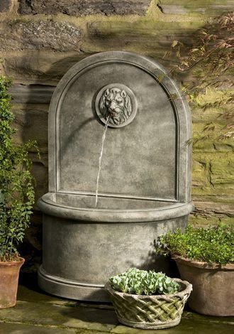 Photo of Campania Lion Wall Fountain - Marquis Gardens