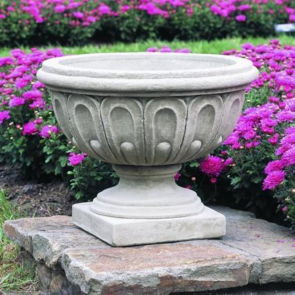 Photo of Campania Longwood Fluted Urn - Marquis Gardens