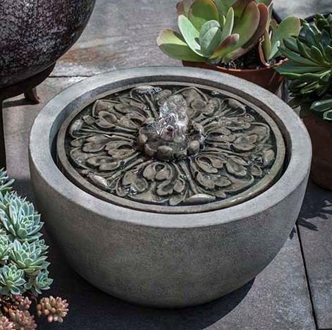 Photo of Campania M-Series Medallion Fountain - Marquis Gardens