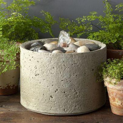 Photo of Campania M-Series Pebble Fountain - Marquis Gardens