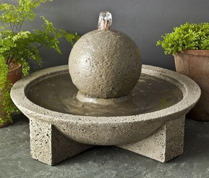 Photo of Campania M-Series Sphere Fountain - Marquis Gardens