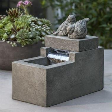 Photo of Campania Mini Element with Birds Fountain - Marquis Gardens