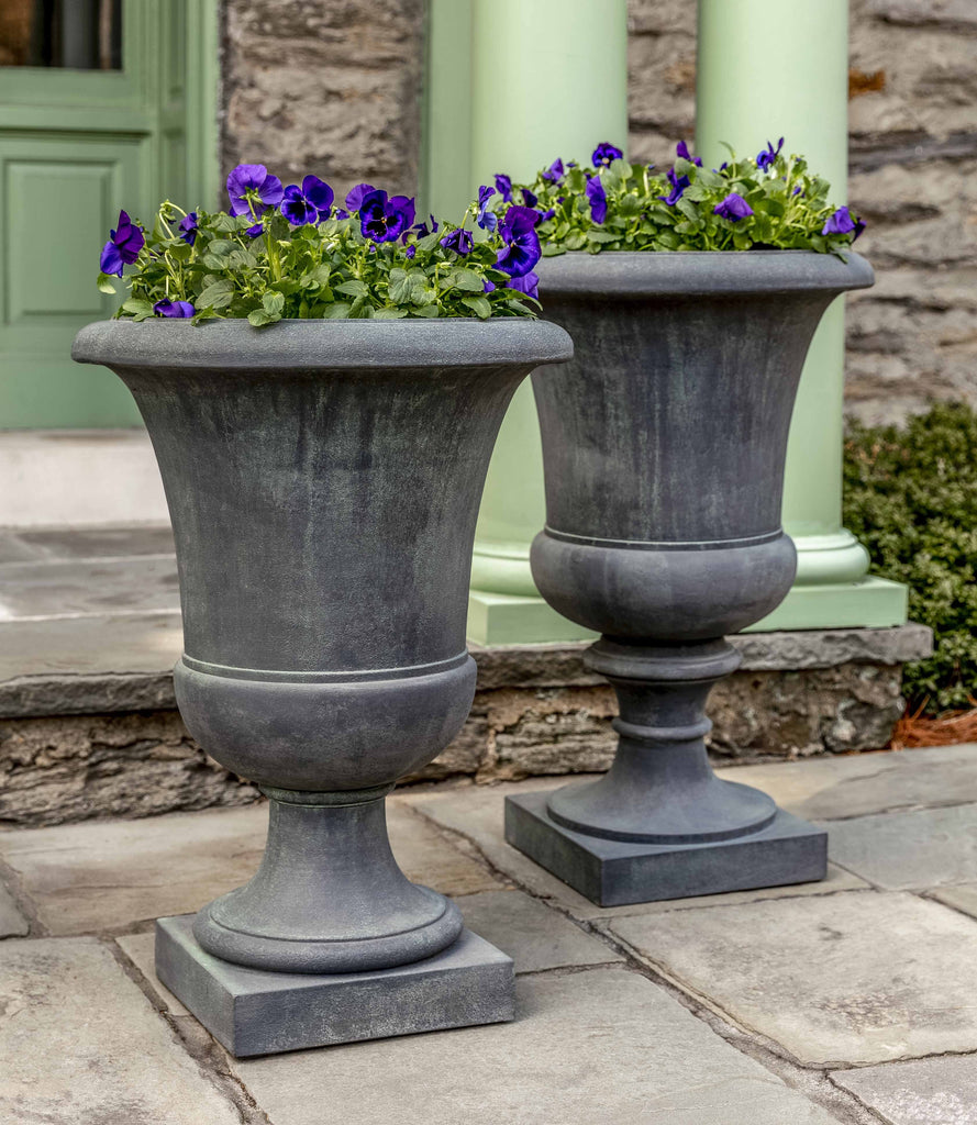 Campania Soane and Paris Urn, Lead Antique