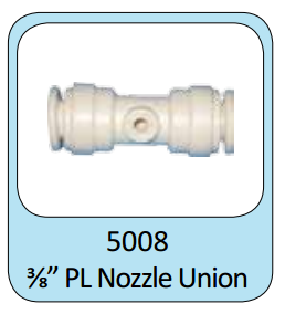 "Photo of ProEco Push Lock Nozzle Union 3/8""  - Marquis Gardens"