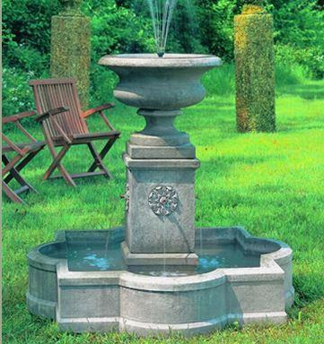 Photo of Campania Palazzo Urn Fountain - Marquis Gardens