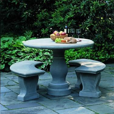 Photo of Campania Palladio Table - Marquis Gardens