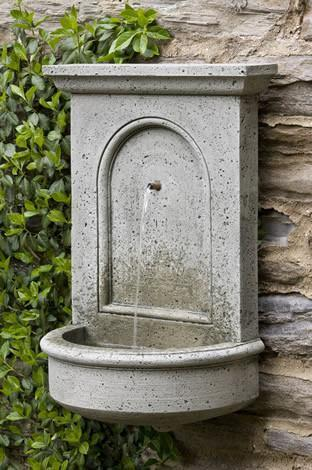 Photo of Campania Portico Fountain - Marquis Gardens