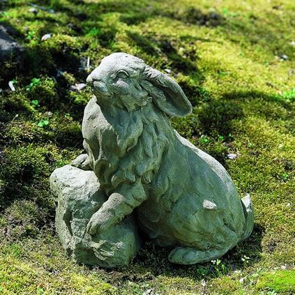 Photo of Campania Rabbit on a Rock - Marquis Gardens