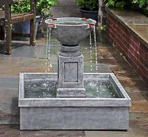 Photo of Campania Rittenhouse Fountain - Marquis Gardens